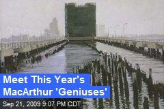 Meet This Year's MacArthur 'Geniuses'