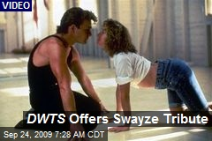 DWTS Offers Swayze Tribute