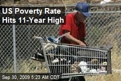 US Poverty Rate Hits 11-Year High