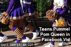 Teens Pummel Pom Queen in Facebook Vid