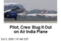Pilot, Crew Slug It Out on Air India Plane