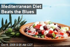 Mediterranean Diet Beats the Blues