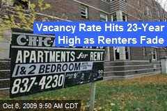 Vacancy Rate Hits 23-Year High as Renters Fade