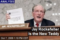Jay Rockefeller Is the New Teddy