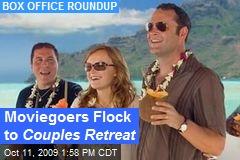 Moviegoers Flock to Couples Retreat
