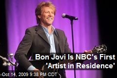 Bon Jovi Is NBC's First 'Artist in Residence'