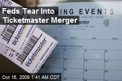 Feds Tear Into Ticketmaster Merger