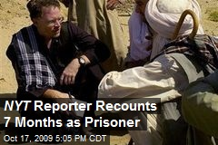 NYT Reporter Recounts 7 Months as Prisoner