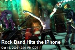 Rock Band Hits the iPhone