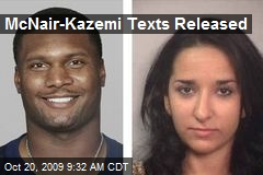 McNair-Kazemi Texts Released