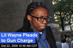 Lil Wayne Pleads to Gun Charge