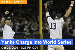 Yanks Charge Into World Series
