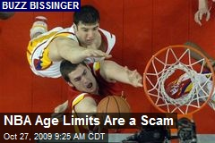 NBA Age Limits Are a Scam