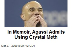 In Memoir, Agassi Admits Using Crystal Meth