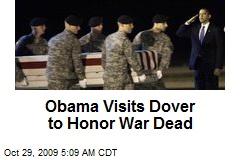 Obama Visits Dover to Honor War Dead