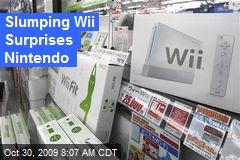 Slumping Wii Surprises Nintendo