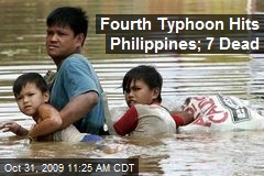 Fourth Typhoon Hits Philippines; 7 Dead