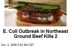 E. Coli Outbreak in Northeast Ground Beef Kills 2