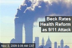 Beck Rates Health Reform as 9/11 Attack