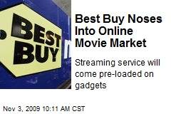 Best Buy Noses Into Online Movie Market
