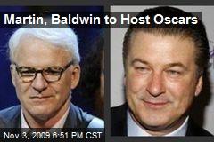 Martin, Baldwin to Host Oscars