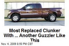 Most Replaced Clunker With ... Another Guzzler Like This