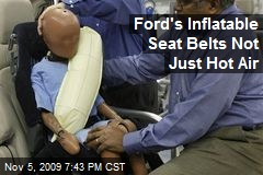 Ford's Inflatable Seat Belts Not Just Hot Air