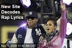 New Site Decodes Rap Lyrics