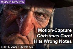 Motion-Capture Christmas Carol Hits Wrong Notes