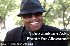Joe Jackson Asks Estate for Allowance