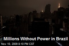 Millions Without Power in Brazil