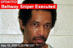 Beltway Sniper Executed