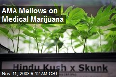 AMA Mellows on Medical Marijuana