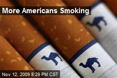 More Americans Smoking