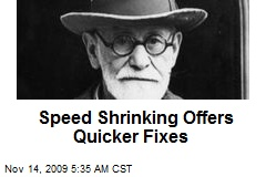 Speed Shrinking Offers Quicker Fixes