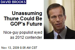 Unassuming Thune Could Be GOP's Future