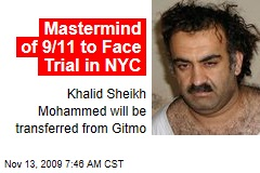 Mastermind of 9/11 to Face Trial in NYC