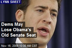 Dems May Lose Obama's Old Senate Seat