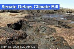 Senate Delays Climate Bill