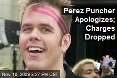 Perez Puncher Apologizes; Charges Dropped