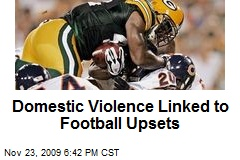 Domestic Violence Linked to Football Upsets