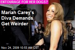 Mariah Carey's Diva Demands Get Weirder