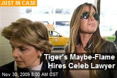 Tiger's Maybe-Flame Hires Celeb Lawyer