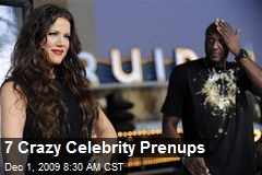 7 Crazy Celebrity Prenups