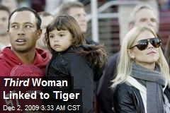 Third Woman Linked to Tiger