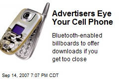Advertisers Eye Your Cell Phone