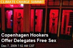 Copenhagen Hookers Offer Delegates Free Sex