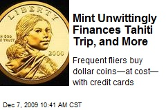 Mint Unwittingly Finances Tahiti Trip, and More