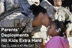 Parents' Deployments Hit Kids Extra Hard