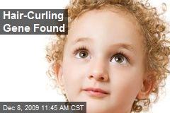 Hair-Curling Gene Found
